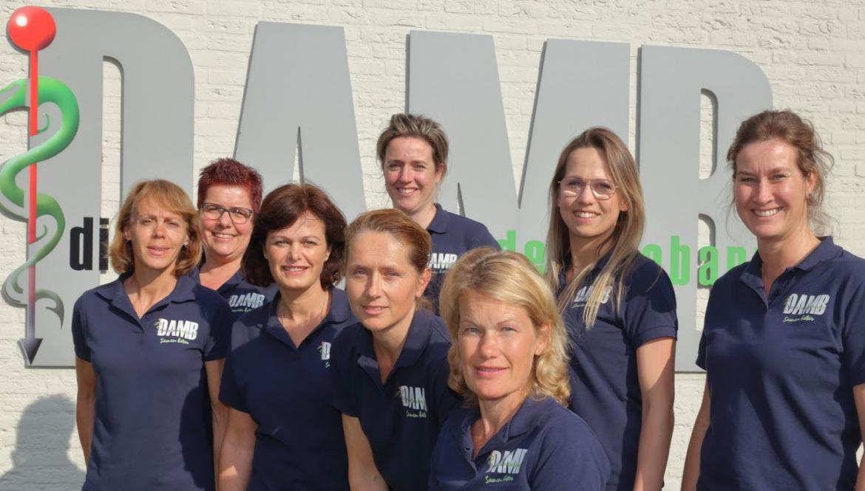 Team administratie bij Dierenartsen Midden Brabant
